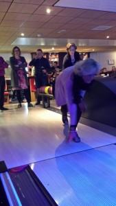 Dé bowlinghouding! Goed bezig.
